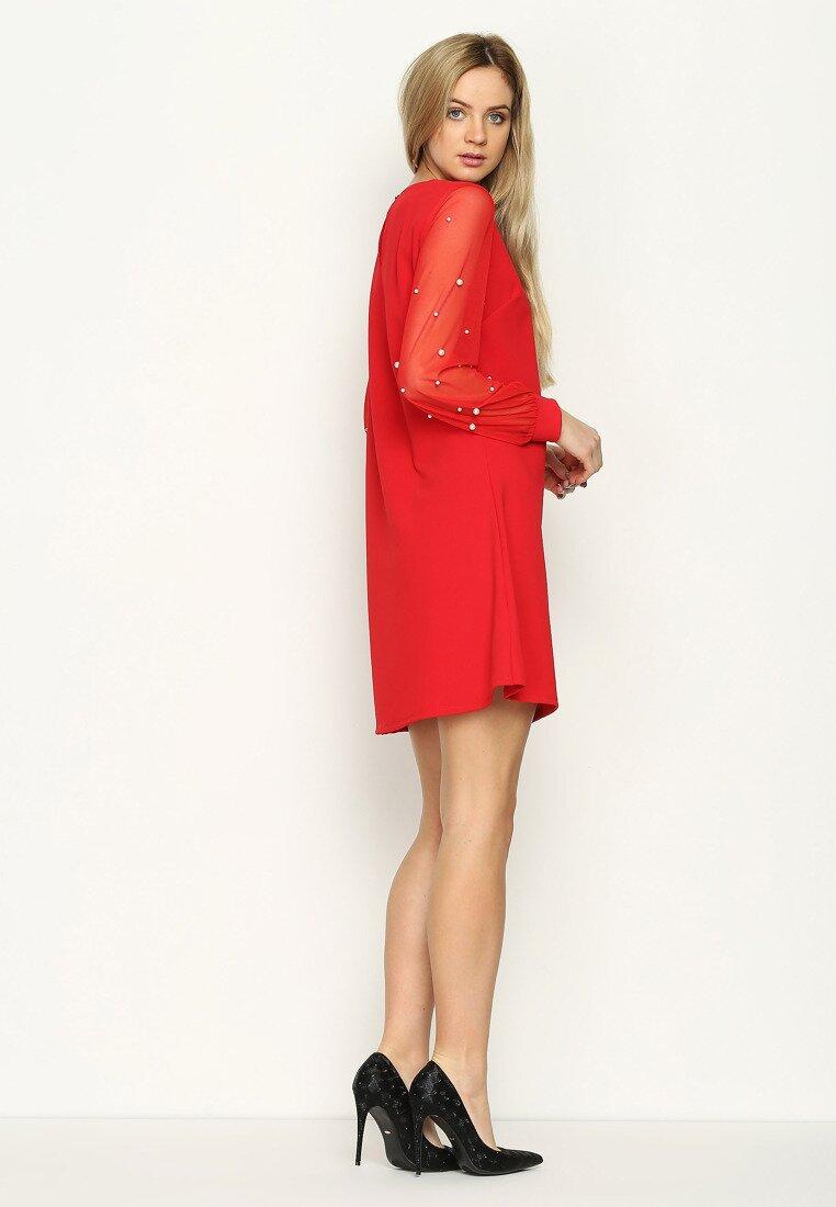Czerwona Sukienka Little Elements
