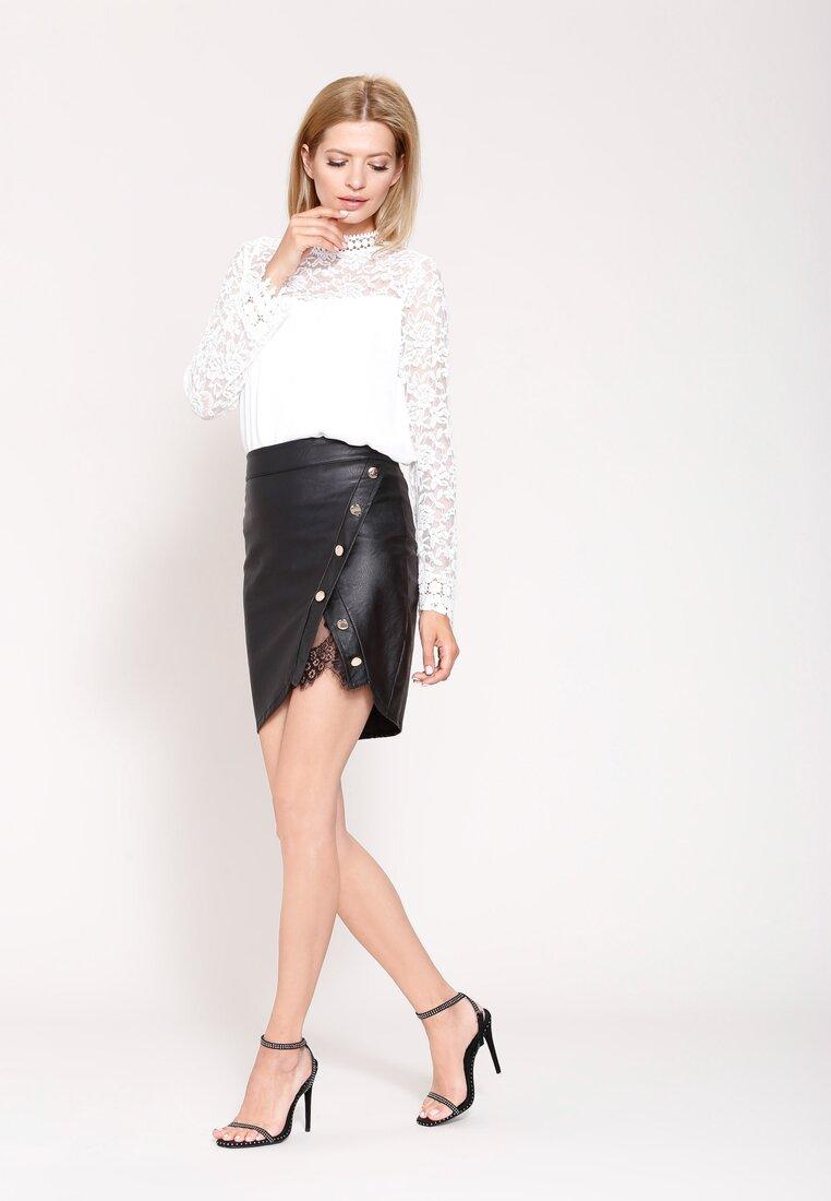 Czarna Spódnica Lace Cut