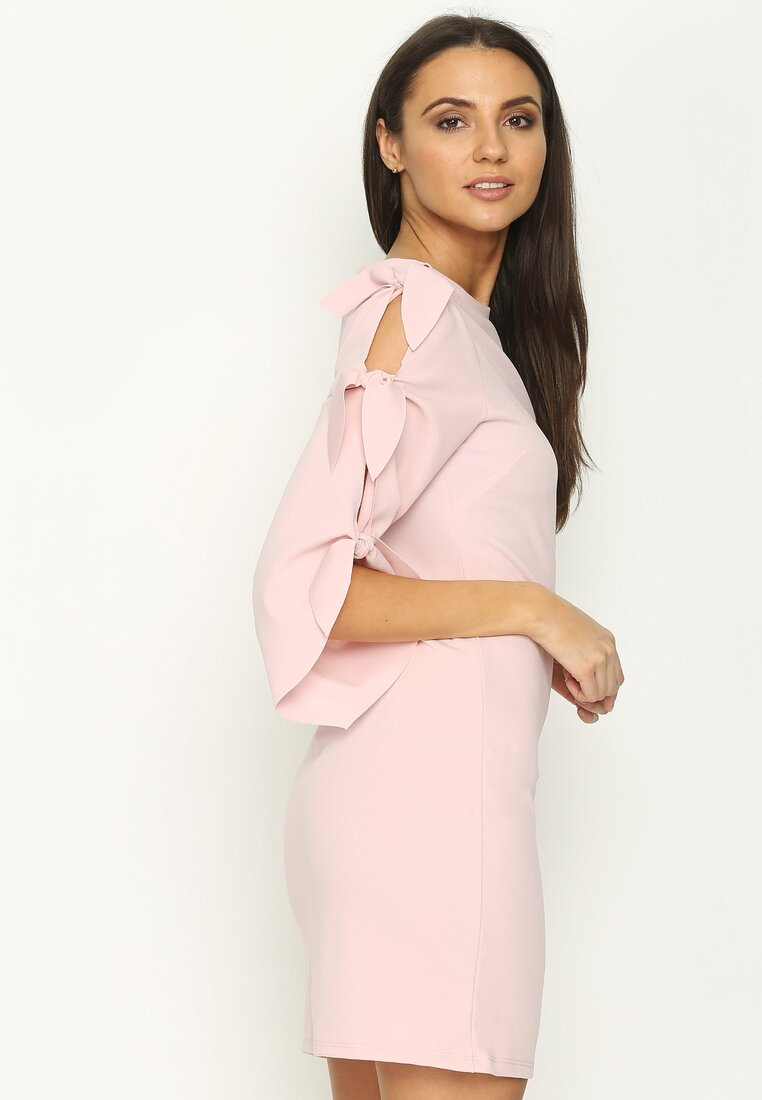 Różowa Sukienka Belong To Mine