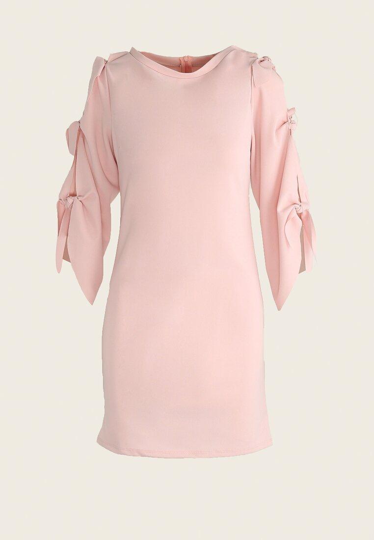 Różowa Sukienka Angels Wings