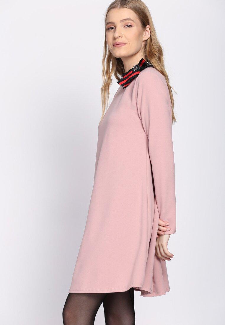 Różowa Sukienka Enamel