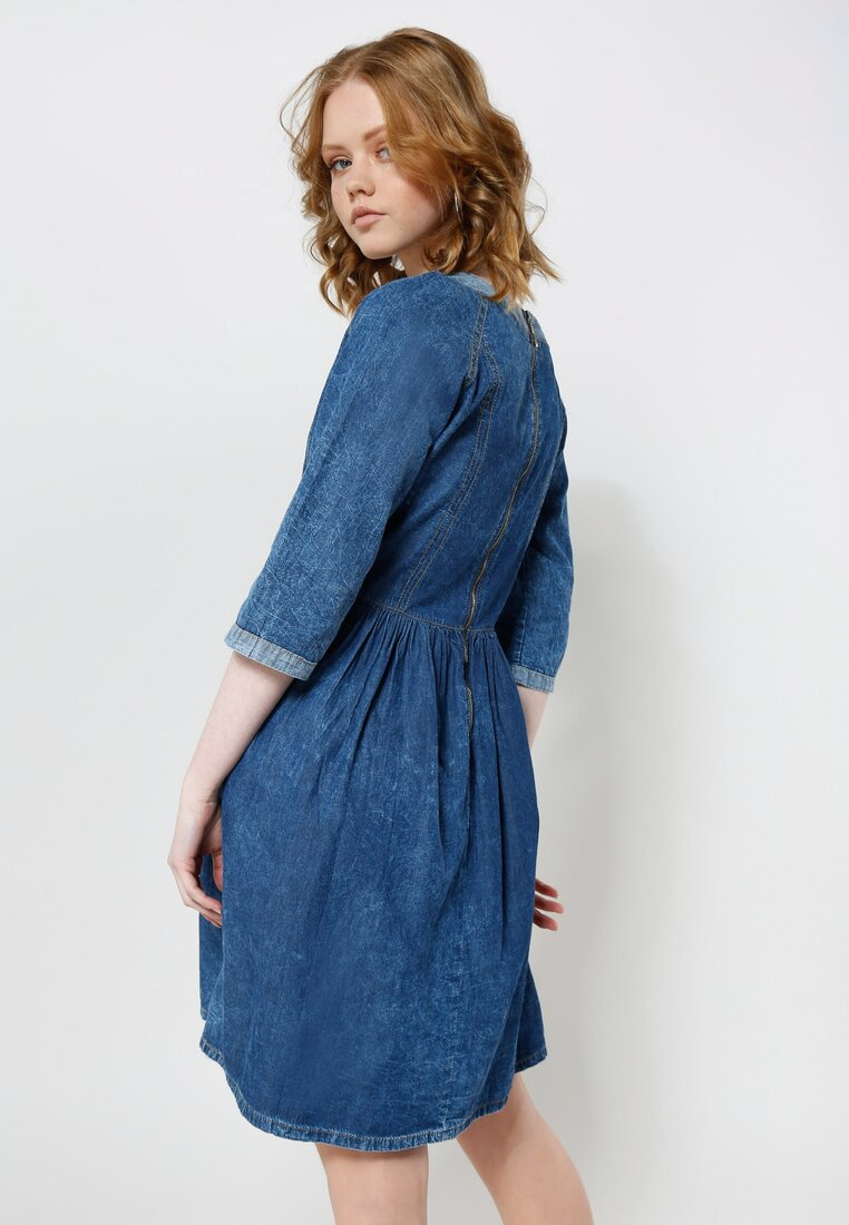 Niebieska Sukienka Miracle