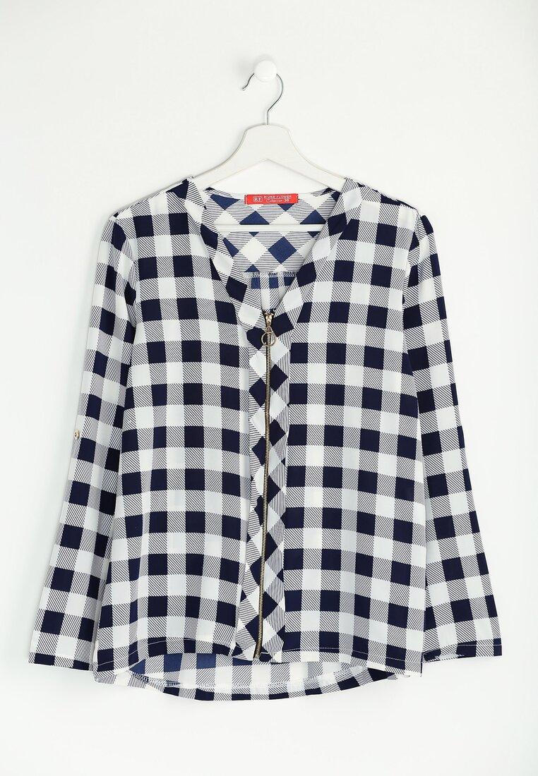 Granatowa Koszula Presence