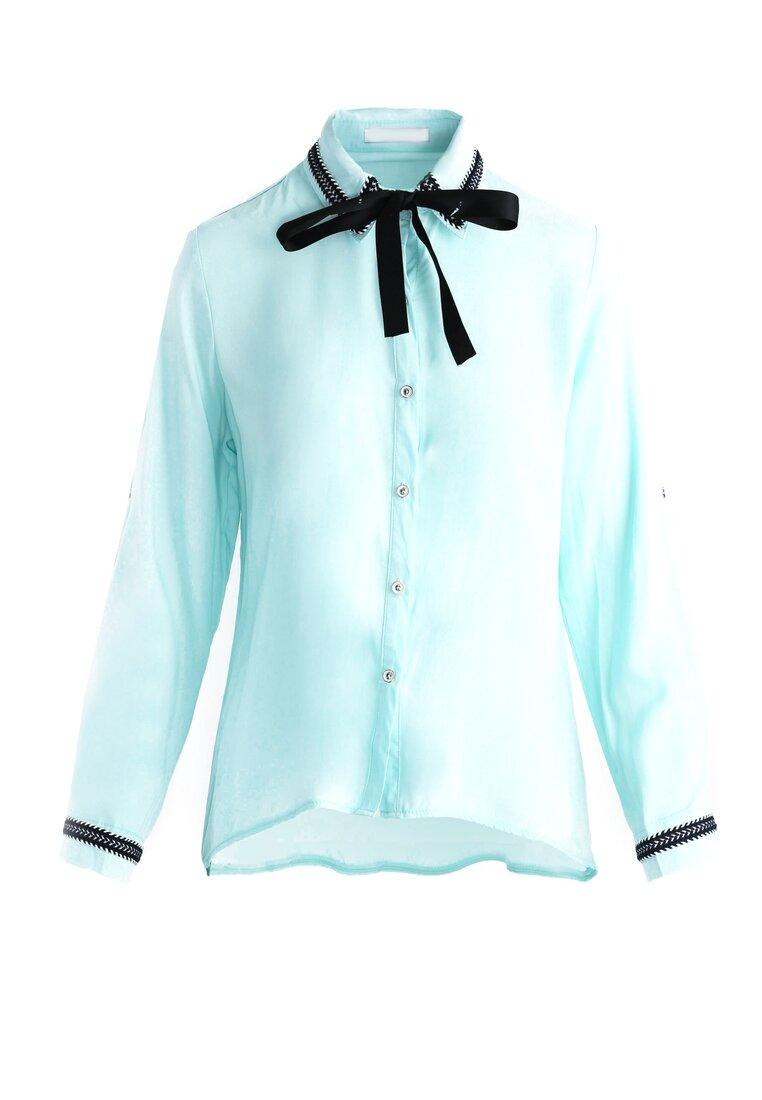 Jasnoniebieska Koszula Enable