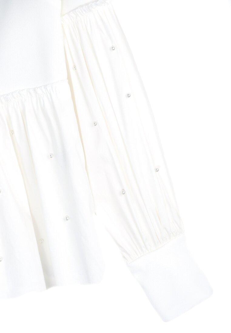 Biała Bluzka Puffy