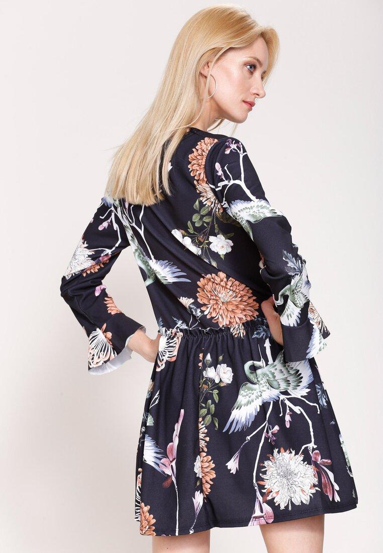 Czarno-Brązowa Sukienka Hey Girl!
