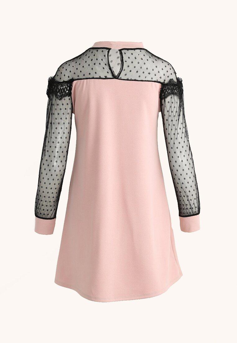 Różowa Sukienka Girlfriend