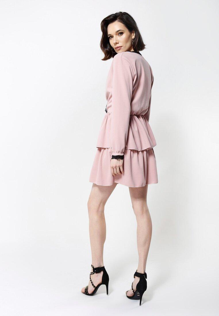 Różowa Sukienka Summer Love
