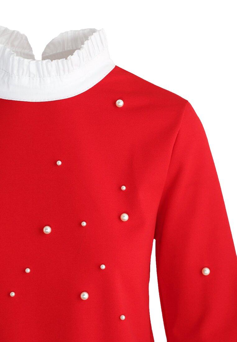 Czerwona Bluzka Spanish Pearl