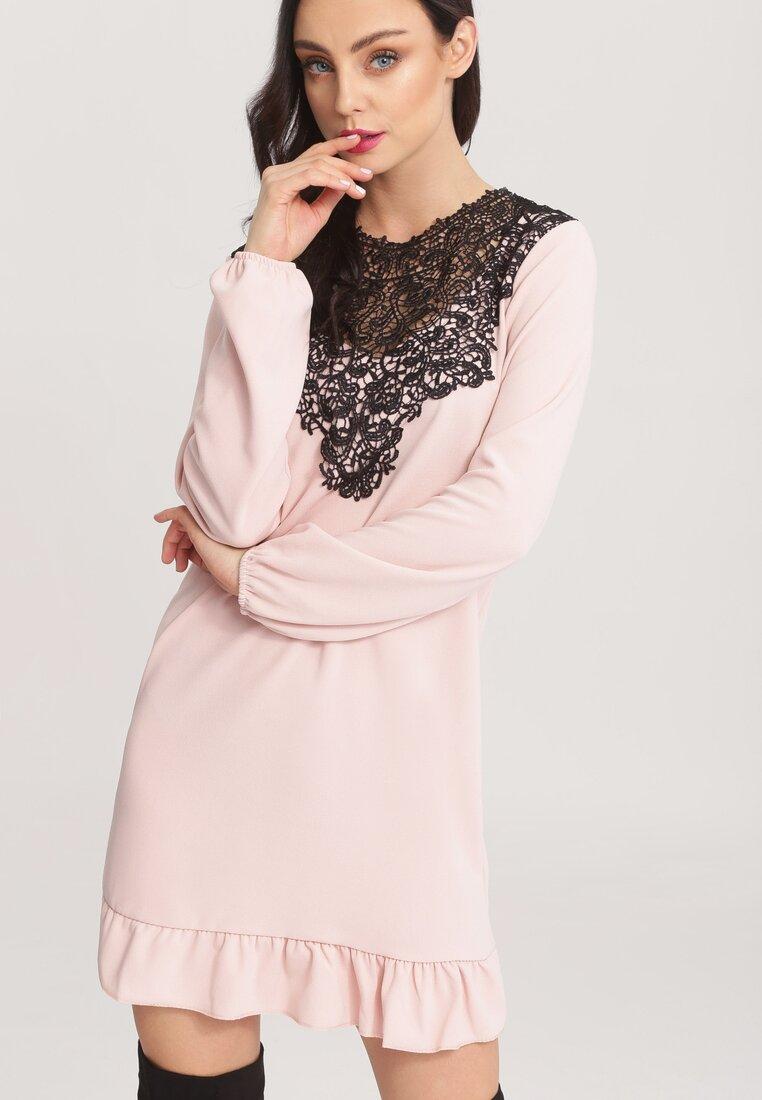 Różowa Sukienka Apparent