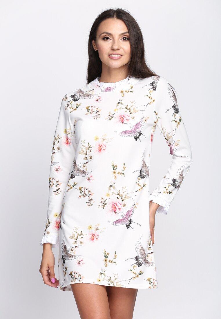 Biało-Różowa Sukienka Sensitivity