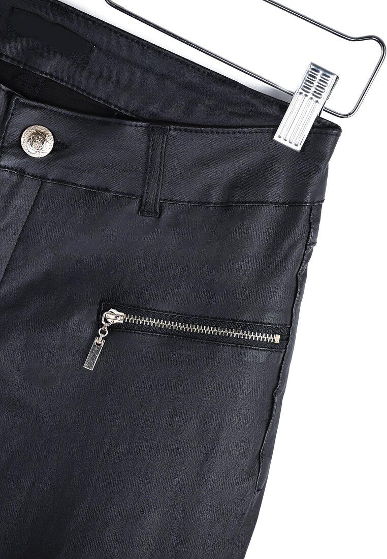 Czarne Spodnie Money Back