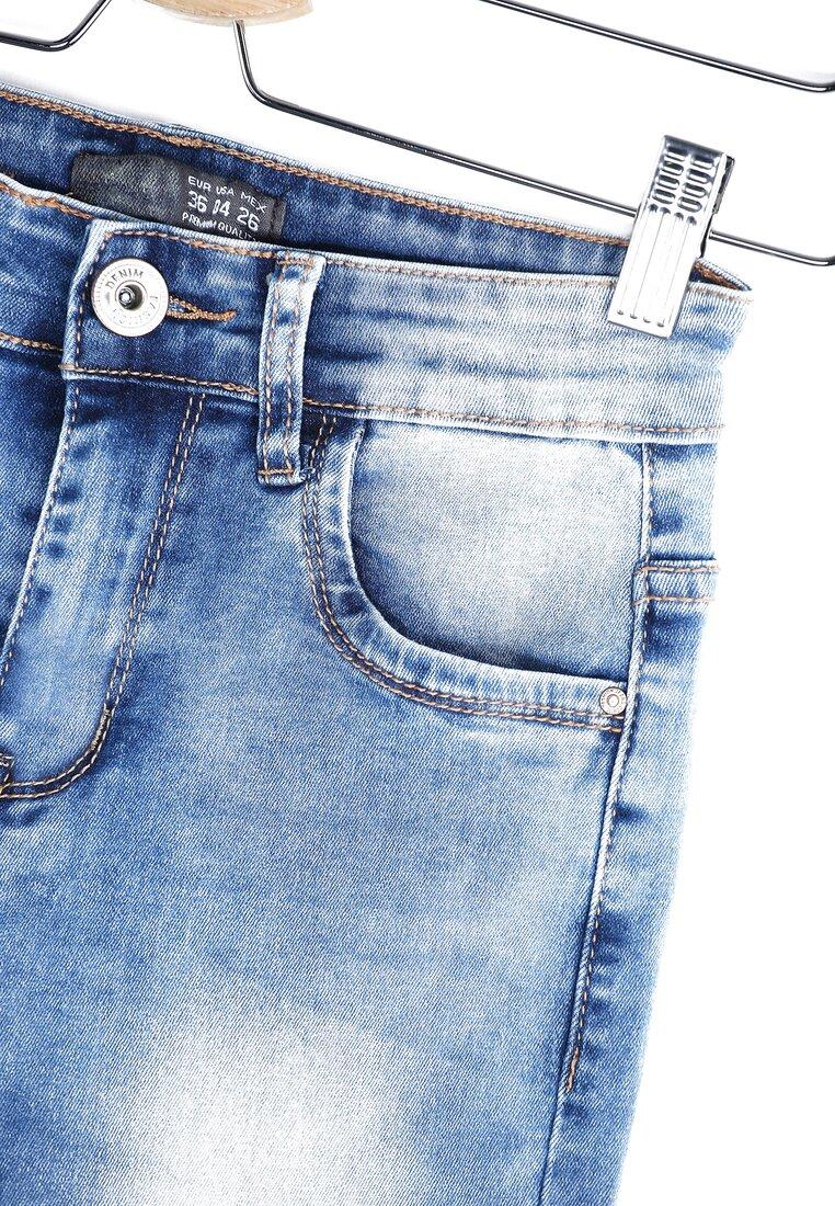 Niebieskie Jeansy Frazzle