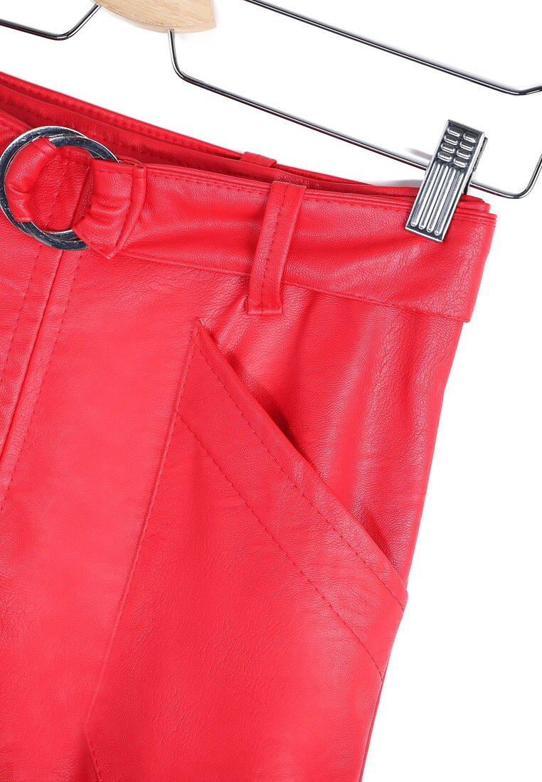 Czerwona Spódnica Geometric