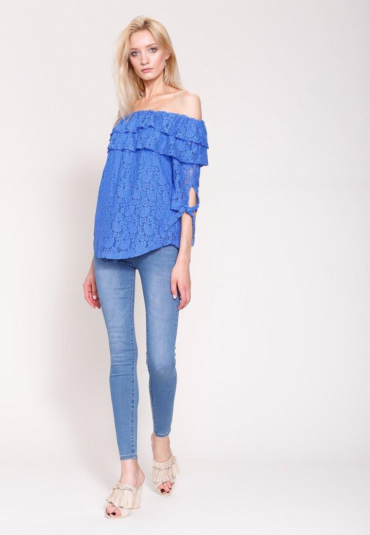 Niebieskie Jeansy Lady Fit