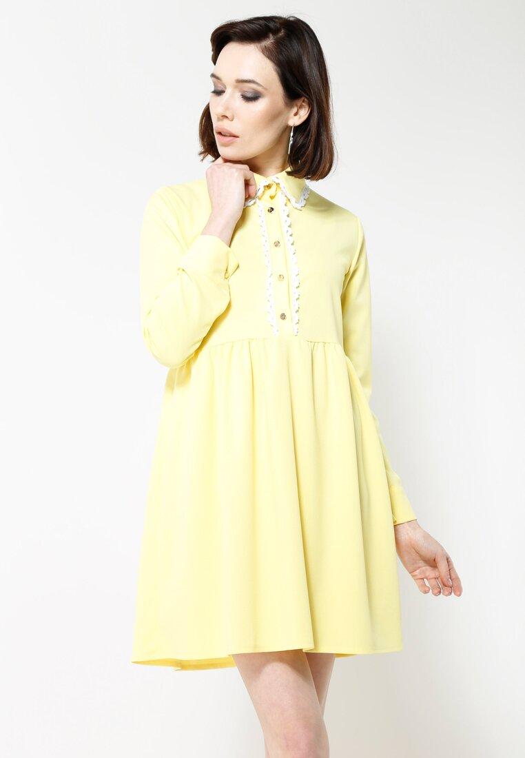 Żółta Sukienka Dance Me