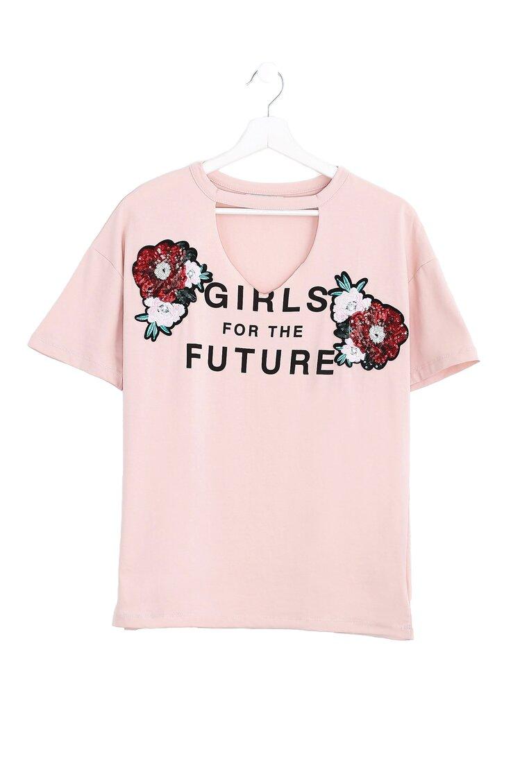 Różowa Bluzka Futurity