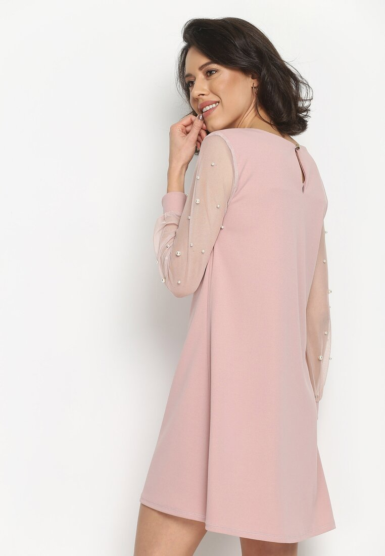 Różowa Sukienka Little Elements