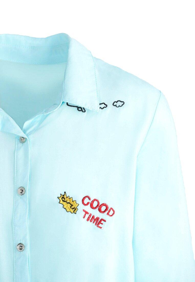 Jasnoniebieska Koszula Caper