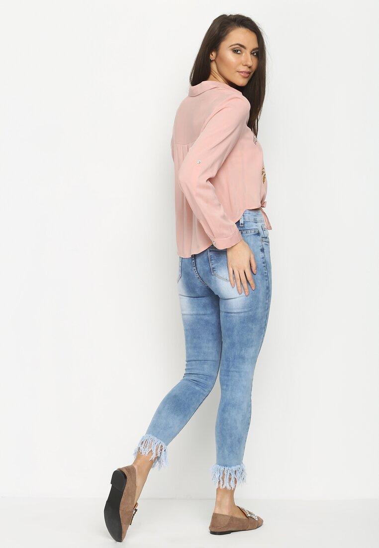 Różowa Koszula Caper