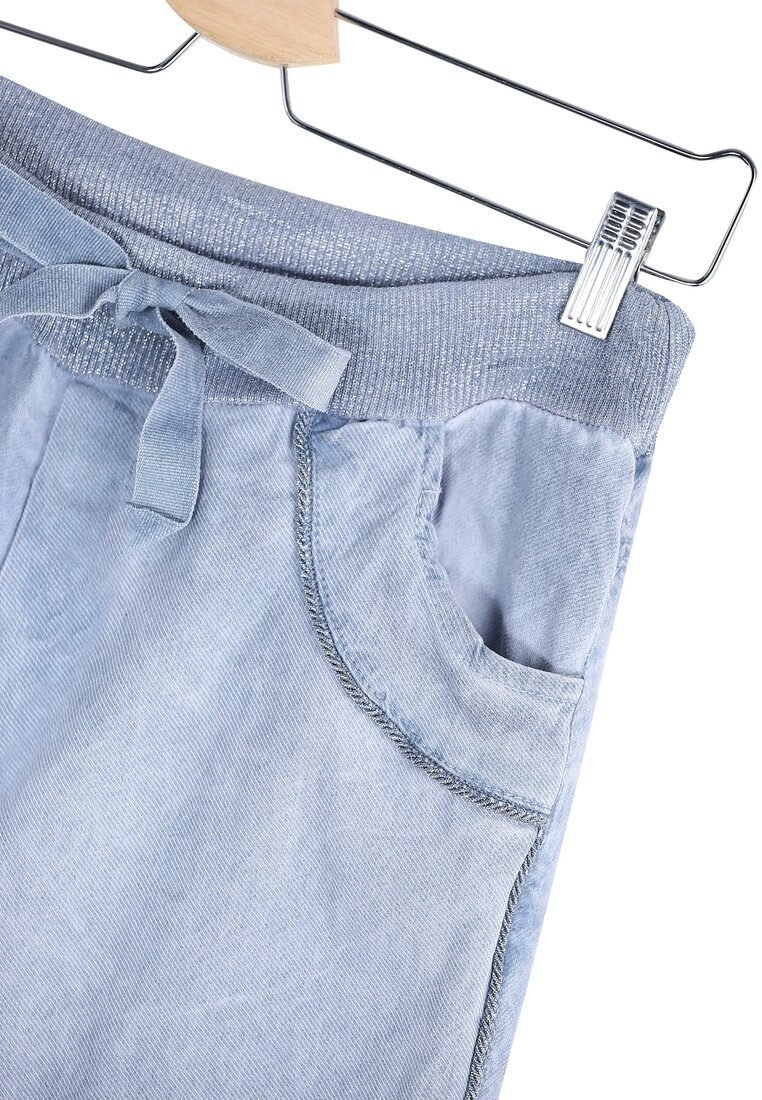 Niebieskie Spodnie Boss Woman