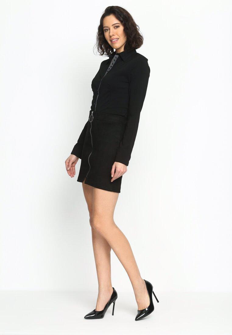 Czarna Koszula Basic And Chic