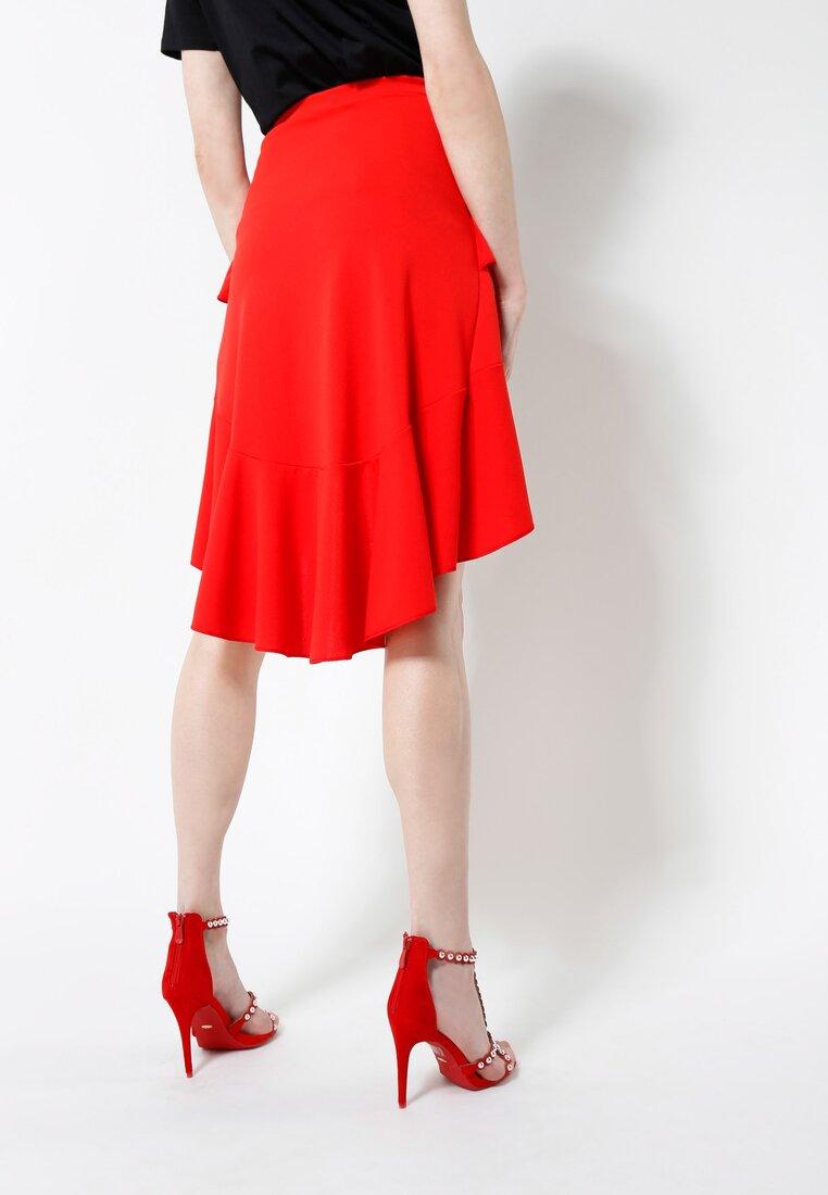 Czerwona Spódnica Latin Dance