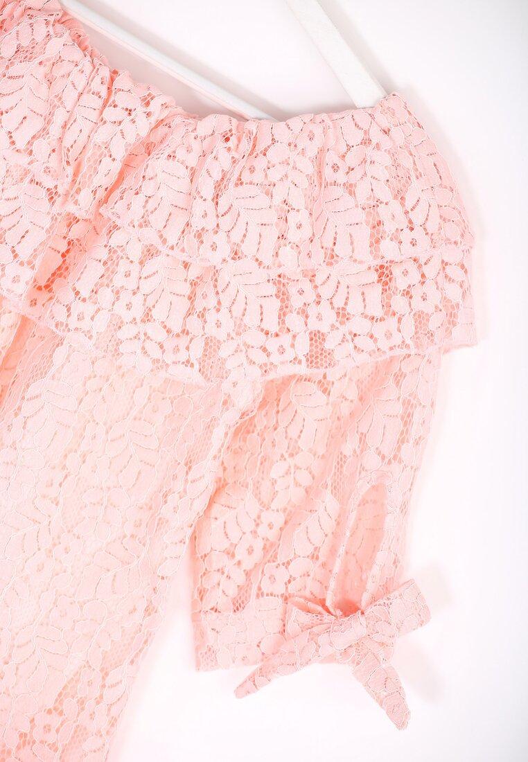 Różowa Bluzka Eye Candy