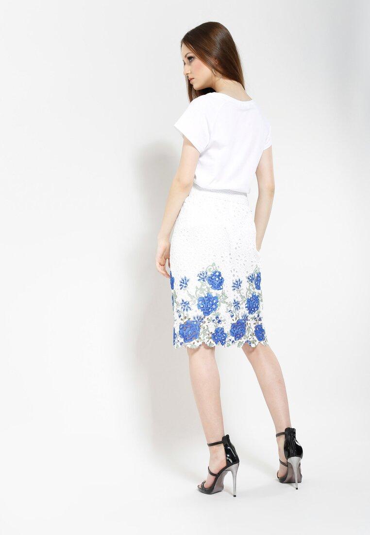 Niebieska Spódnica Cyme