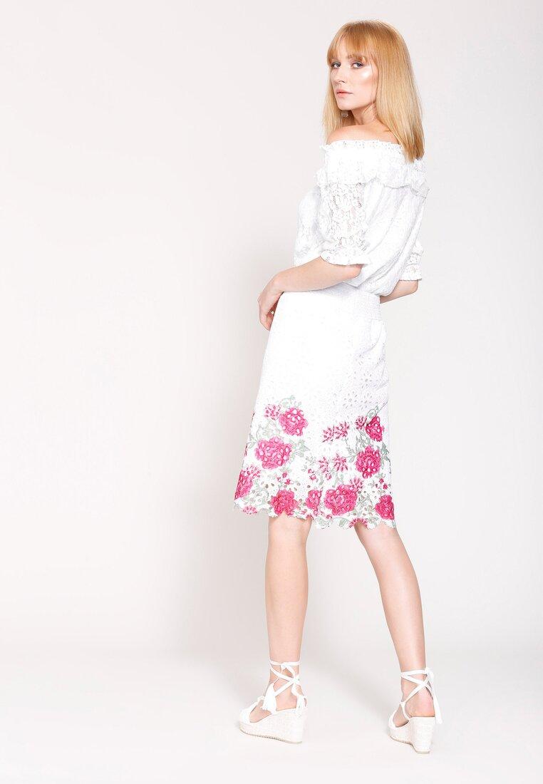 Biało-Czerwona Spódnica Taht's Life