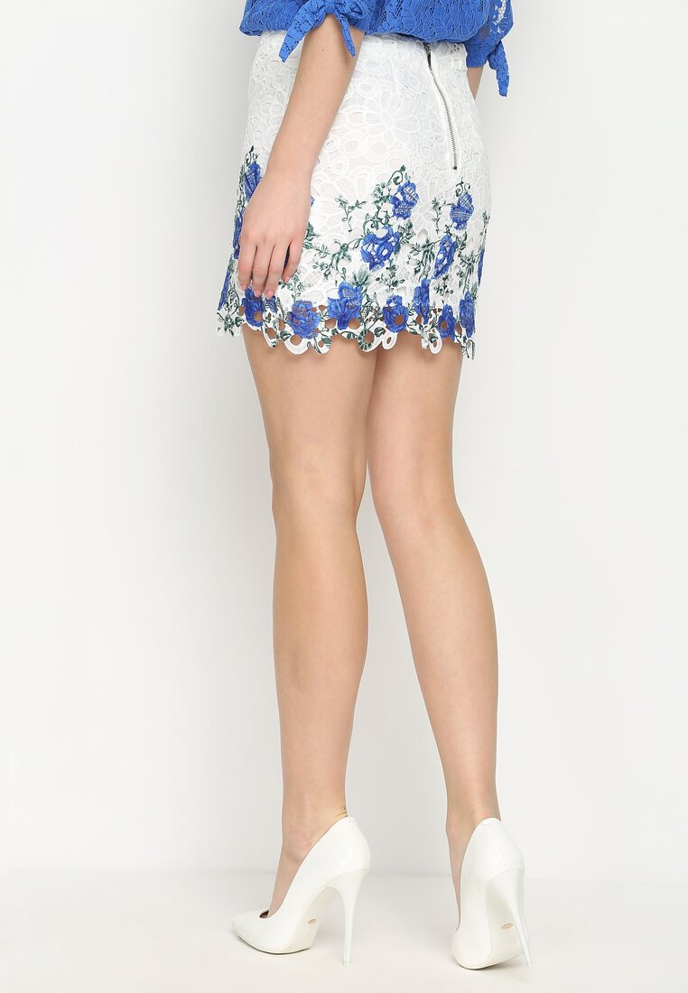 Niebieska Spódnica Minimally