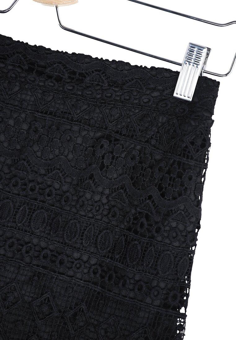 Czarna Spódnica Showy