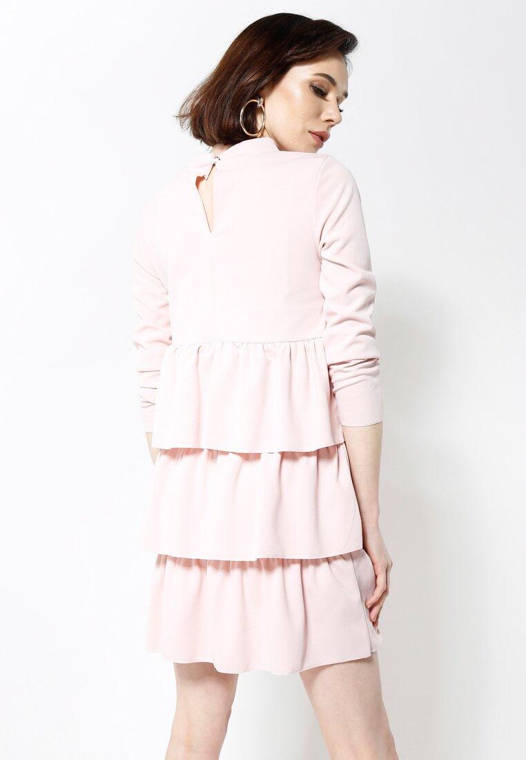 Różowa Sukienka Modesty And Chic