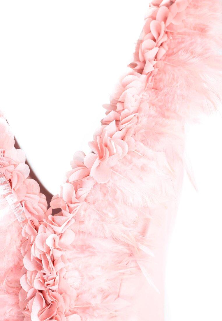 Różowe Body Birdly Feathers