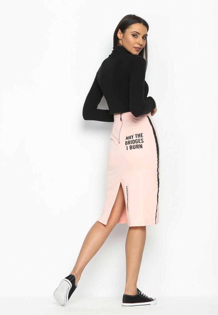 Różowa Spódnica Charm Spring