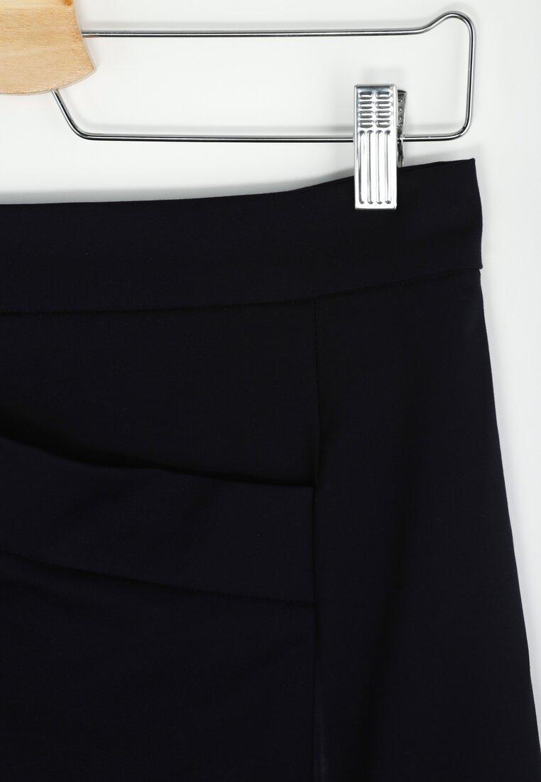 Granatowa Spódnica Envelope