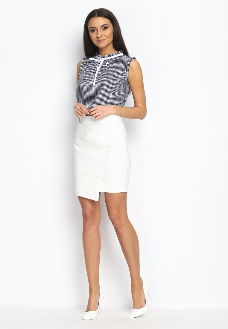 Biała Spódnica Envelope