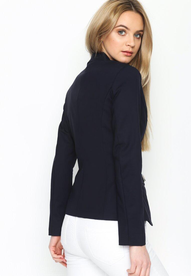 Granatowa Marynarka Sartorial Elegance