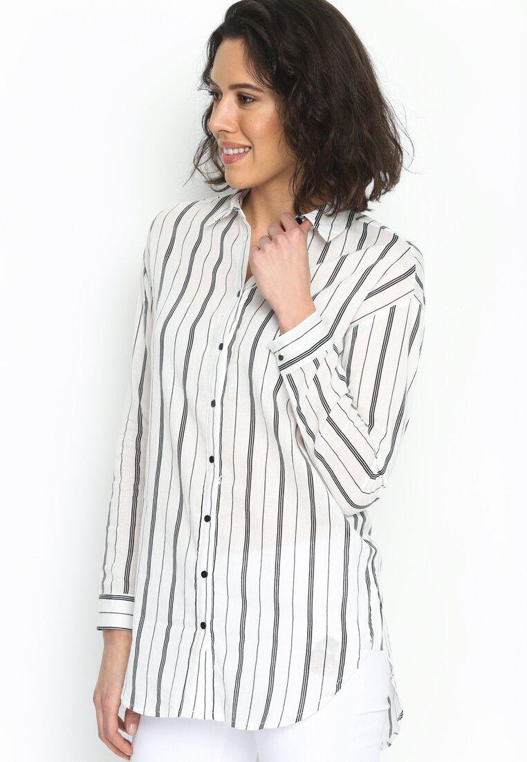 Biało-Czarna Koszula White Bedding