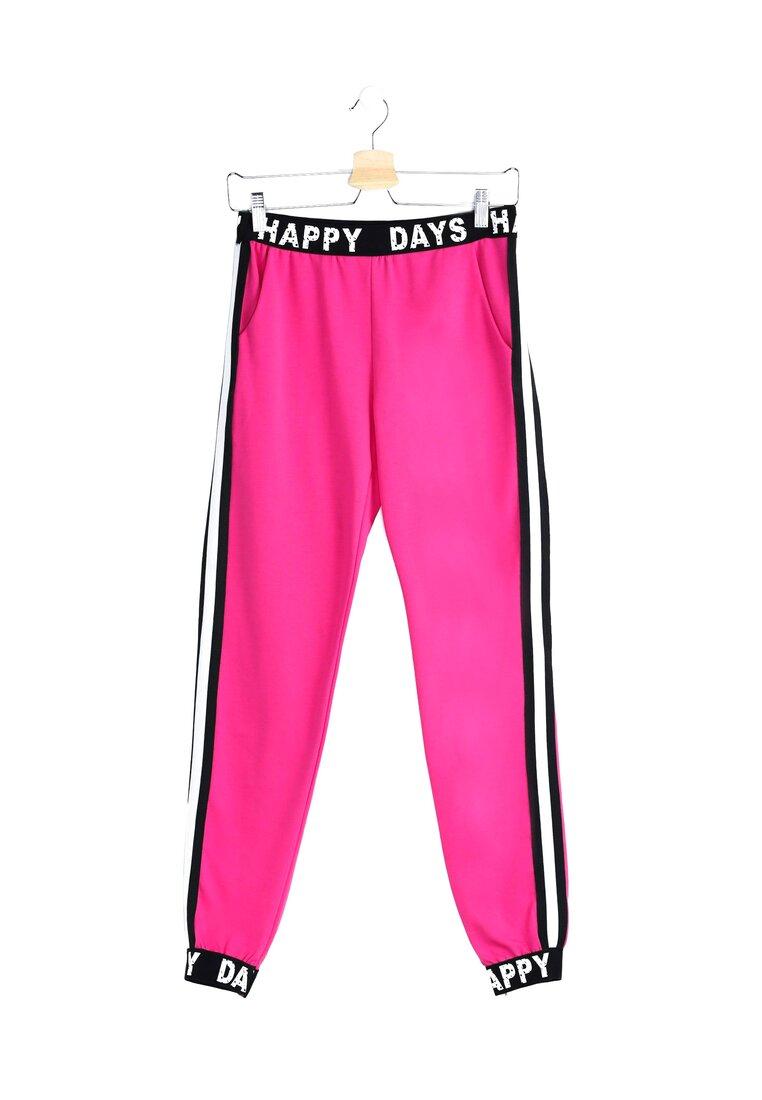 Fuksjowe Spodnie Happy Days