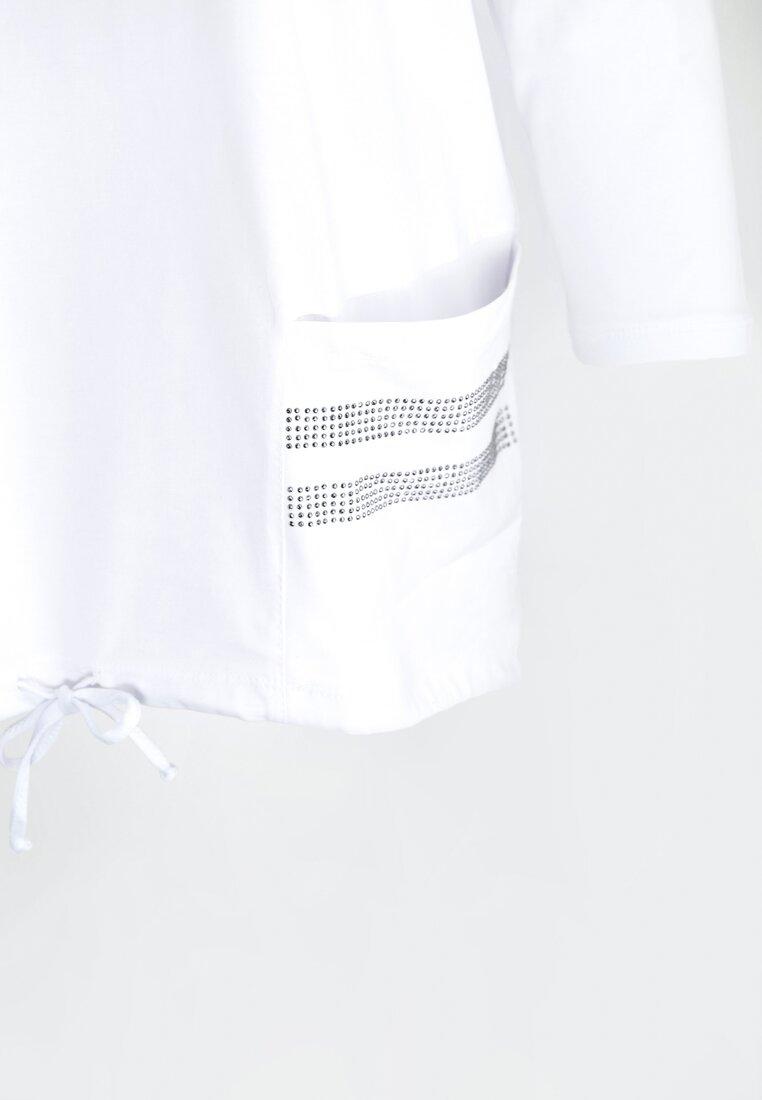Biała Bluzka Overall