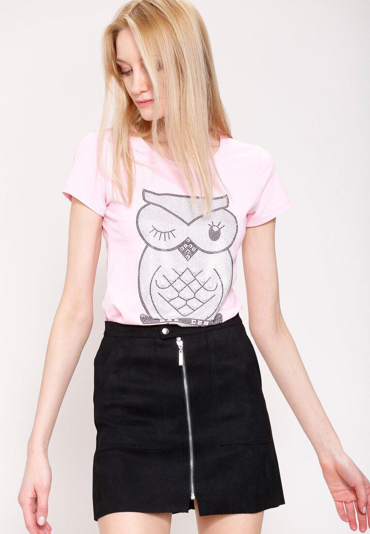 Różowa Bluzka Blink Owl