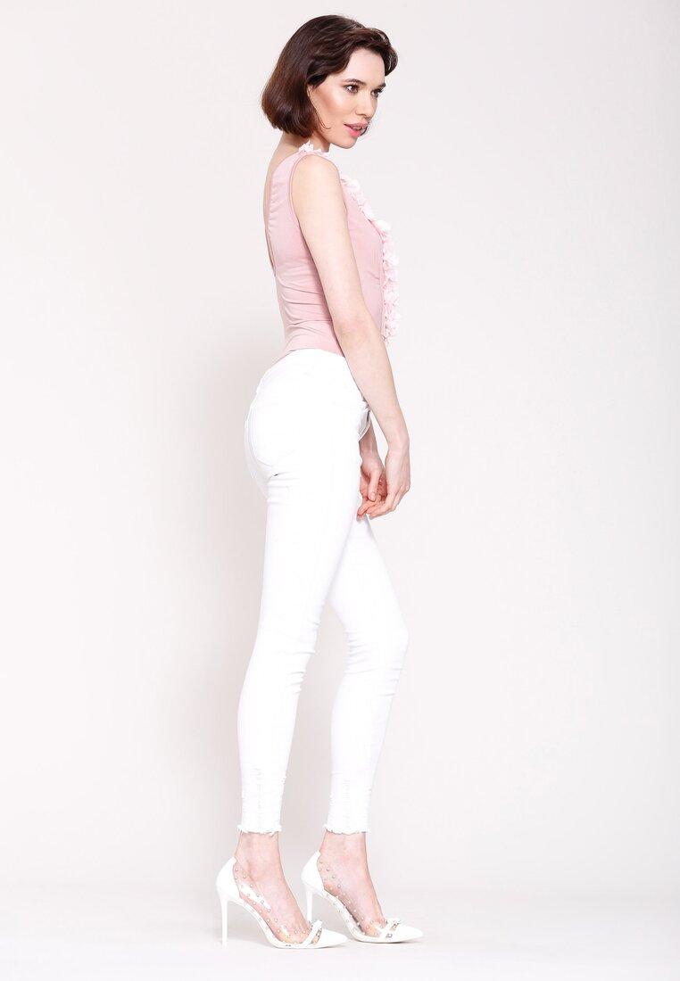 Białe Jeansy Day Treipper