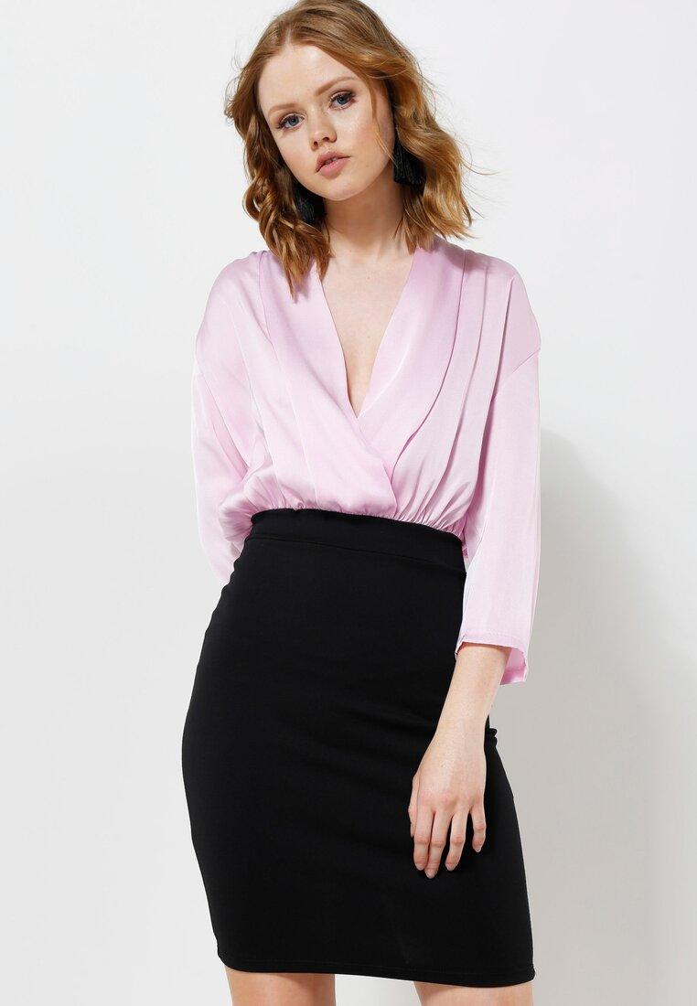 Różowa Sukienka Silk Shades