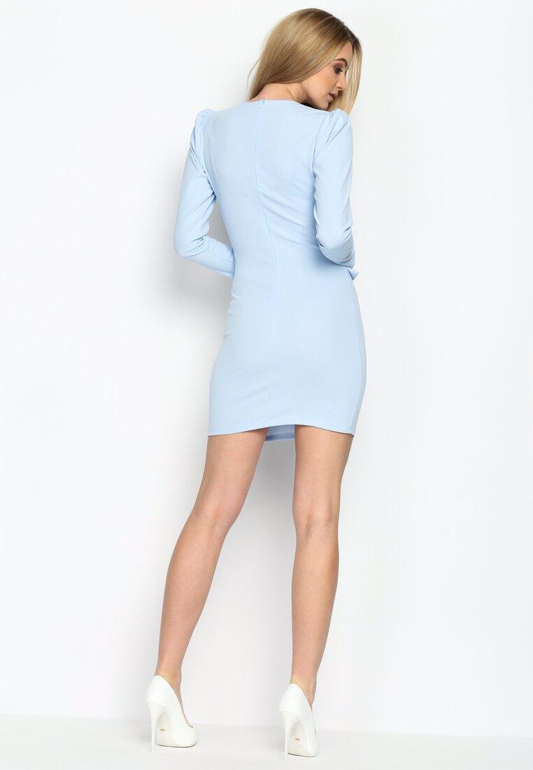 Niebieska Sukienka Island Dream