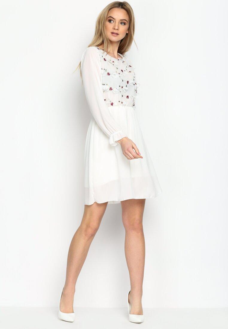 Biała Sukienka Gentle Weeps