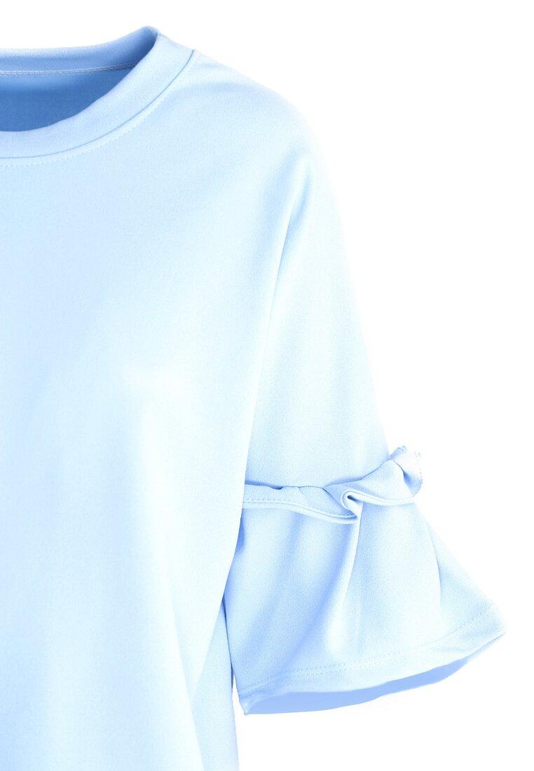 Niebieska Bluzka Romantic Way