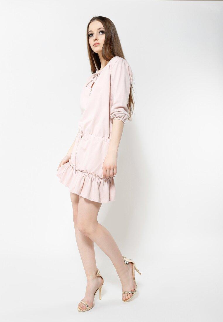 Różowa Sukienka Romantica