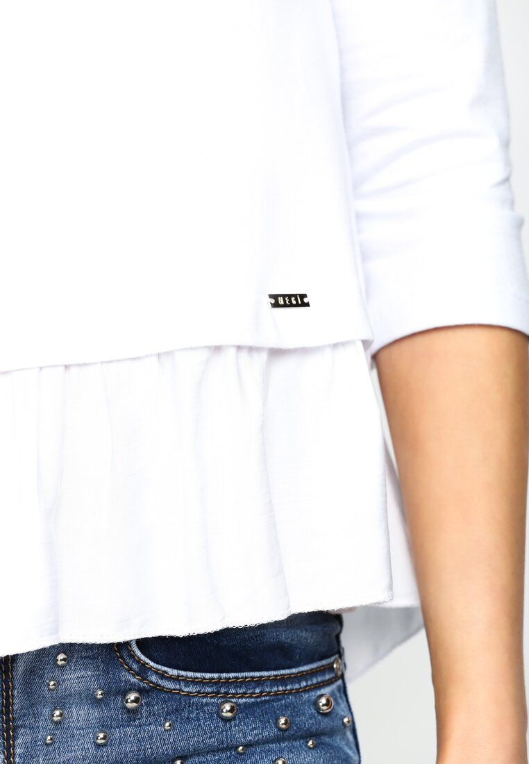 Biała Bluzka Any Time At All