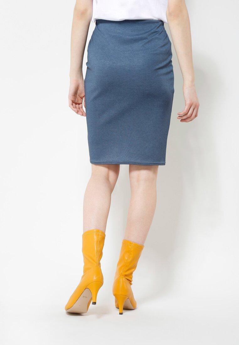 Niebieska Spódnica Fitty